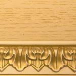 Ткань Тон 11. Тонировка II категории: эмаль слоновая кость, патина золото