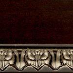 Ткань Тон 15/Пс. Тонировка II категории: краситель венге, патина серебро