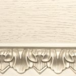 Ткань Тон 19. Тонировка II категории: эмаль белая, патина серебро