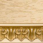 Ткань Тон 22. Тонировка II категории: эмаль крем, патина золото